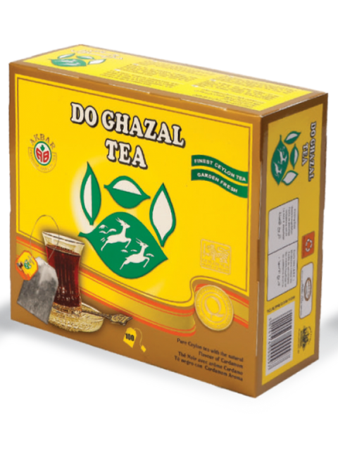Do Ghazal Tea Bag (Cardamom)