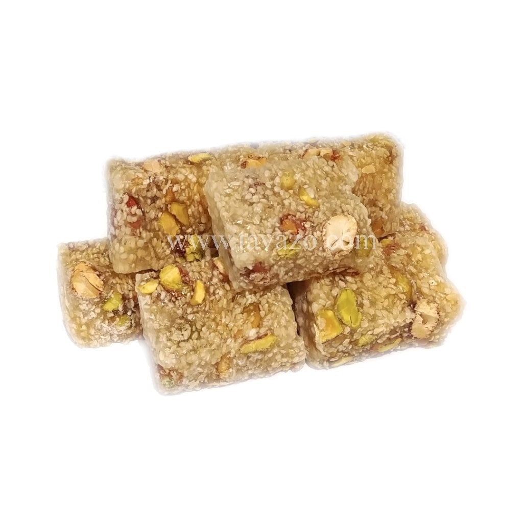 Turkish Delight Malban (Pistachio/Sesame/Almond) - Tavazo Corporation
