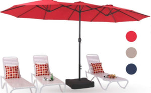 Need some shade in your backyard? Check out the great price on this MF Studio 15ft Outdoor Patio Table Umbrella with Stand just $115.99 Shipped (Reg