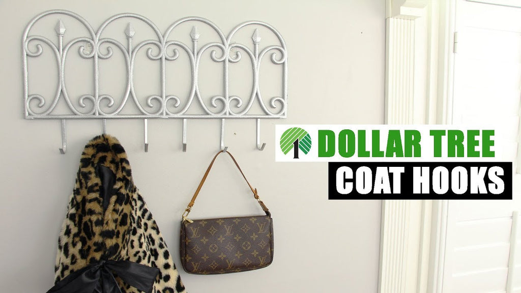 dollartreediy #homedecor #organizer It's another Dollar Tree DIY home decor project! I used an over the door hook and a garden fence from Dollar Tree to make ...