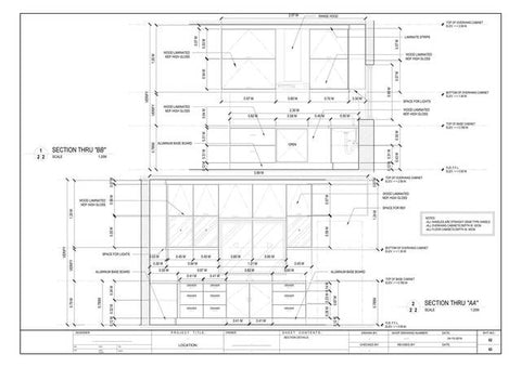 "In the field of product design services, especially that of house interiors and carpentry, the term ""casework shop drawing"" refers to a detailed sketch that represents the assembly of casework and contains specification information, including but..."