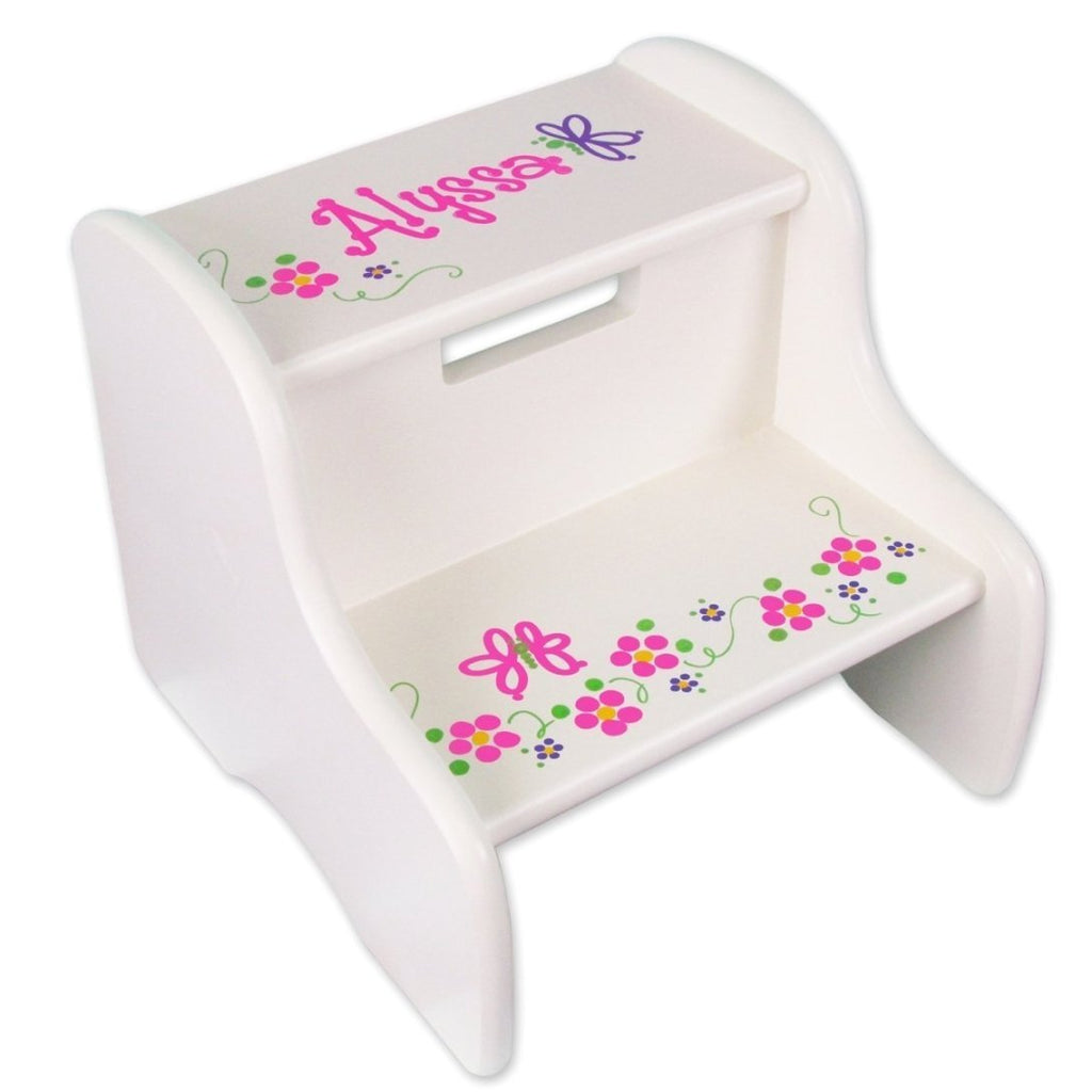 Cottage Personalized Stools For Toddlers