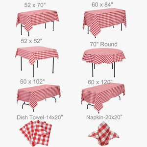 Comfortable 52 X 52 Tablecloth