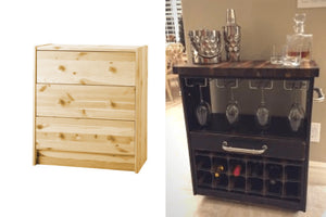 Are you ready to see how to change the life of an IKEA RAST Dresser Hack?