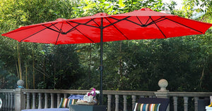 Extra-Large 15′ Patio Umbrella w/ Stand Just $115.99 Shipped on Walmart.com (Regularly $230)
