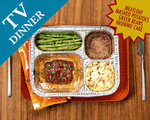 The best Emmy Awards party food? A homemade TV dinner, of course
