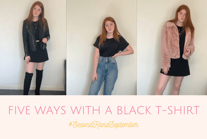 You probably know by now that we're joining in with #SecondHandSeptember this month