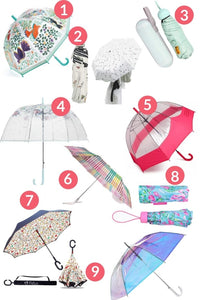 The Cutest Umbrellas for Rain Shower
