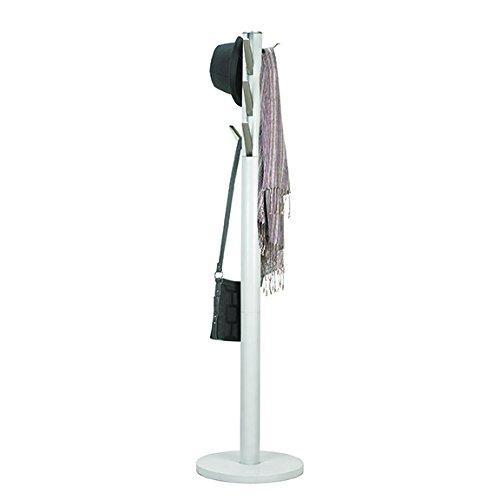 Order now umbra flapper coat rack clothing hanger umbrella holder and hat organizer great for entryway white nickel