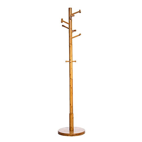 WENBO Home- Bamboo Coat Racks Landing Hangers Bedroom Simple Fashion Clothes Hanger Clothing Rack -Coat Rack/Hook