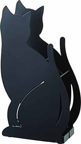 YAMAZAKI home Cat Umbrella Stand Black,