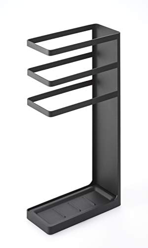 YAMAZAKI home 7933 Layer Stand-Storage for Umbrellas and Walking Canes, Black