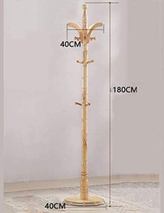 PLLP Drying Rack Hangers Coat Rack Solid Wood Three Legs Hangers Floor Hangers Bedroom Simple Clothing Rack 180Cm Clothes Rack