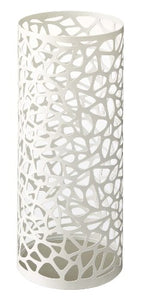 Sunline Nest - White Metal Round Umbrella Stand, Modern Home Decor