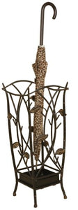 Welcome Home Accents Oil Rubbed Bronze Metal Vine Umbrella Stand