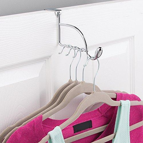 Home watimas over door valet hook for clothes hangers storage for coats hats robes clothes or towels