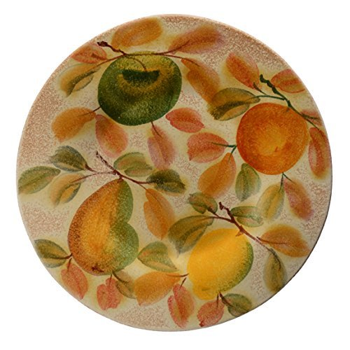 Italian Dinnerware - Decorated Charger - Handmade in Italy from our Frutta Laccata Collection