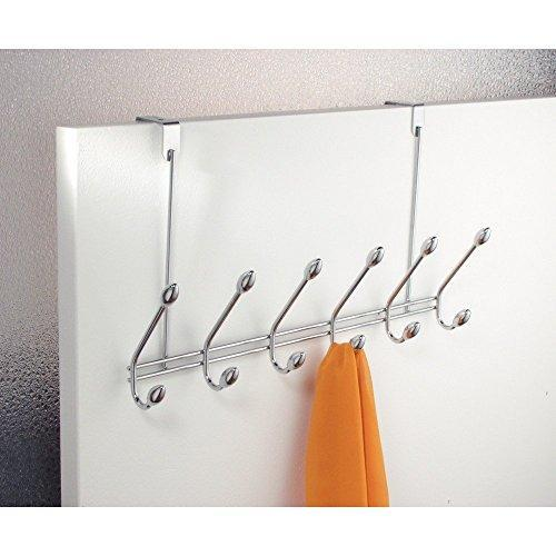 Shop for watimas over door storage rack organizer hooks for coats hats robes clothes or towels