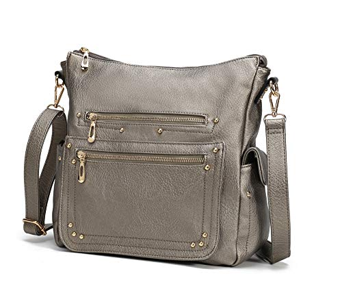 End Pocket Womens Purse Handbag Crossbody Satchel Tote Top Handle by MKCUTE