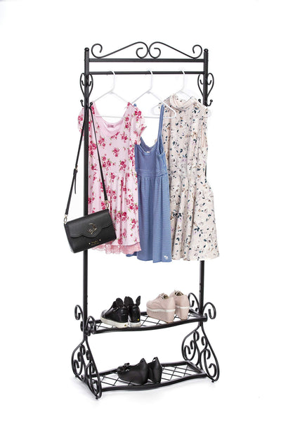 Save brighton combo shoe and coat rack 72 tall