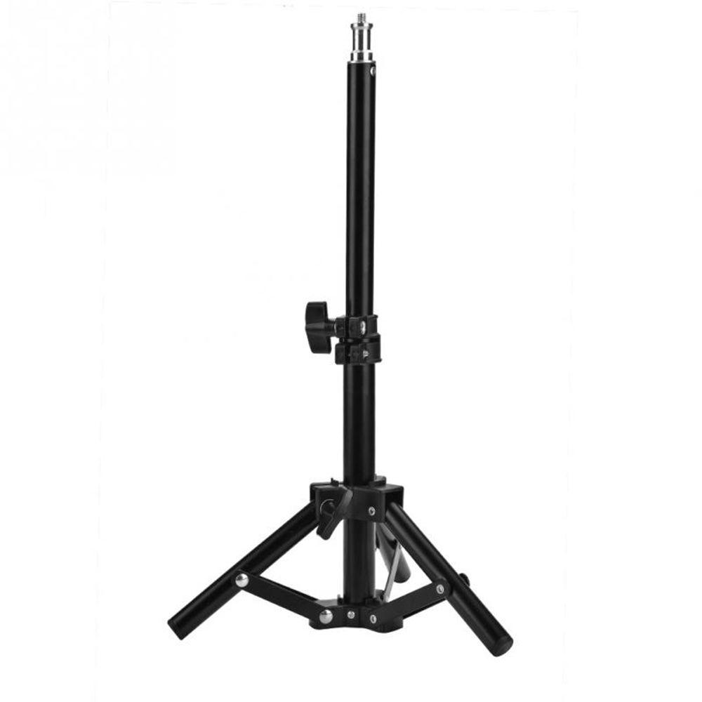 Aluminum Tripod with 3-Way Folding Studio Photography Light Holders Flash Speedlight Umbrella Stand 1/4 head Lighting Stands Bracket Tripod (500mm)