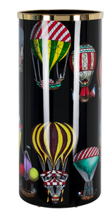 Fornasetti Umbrella stand Palloni colour/black