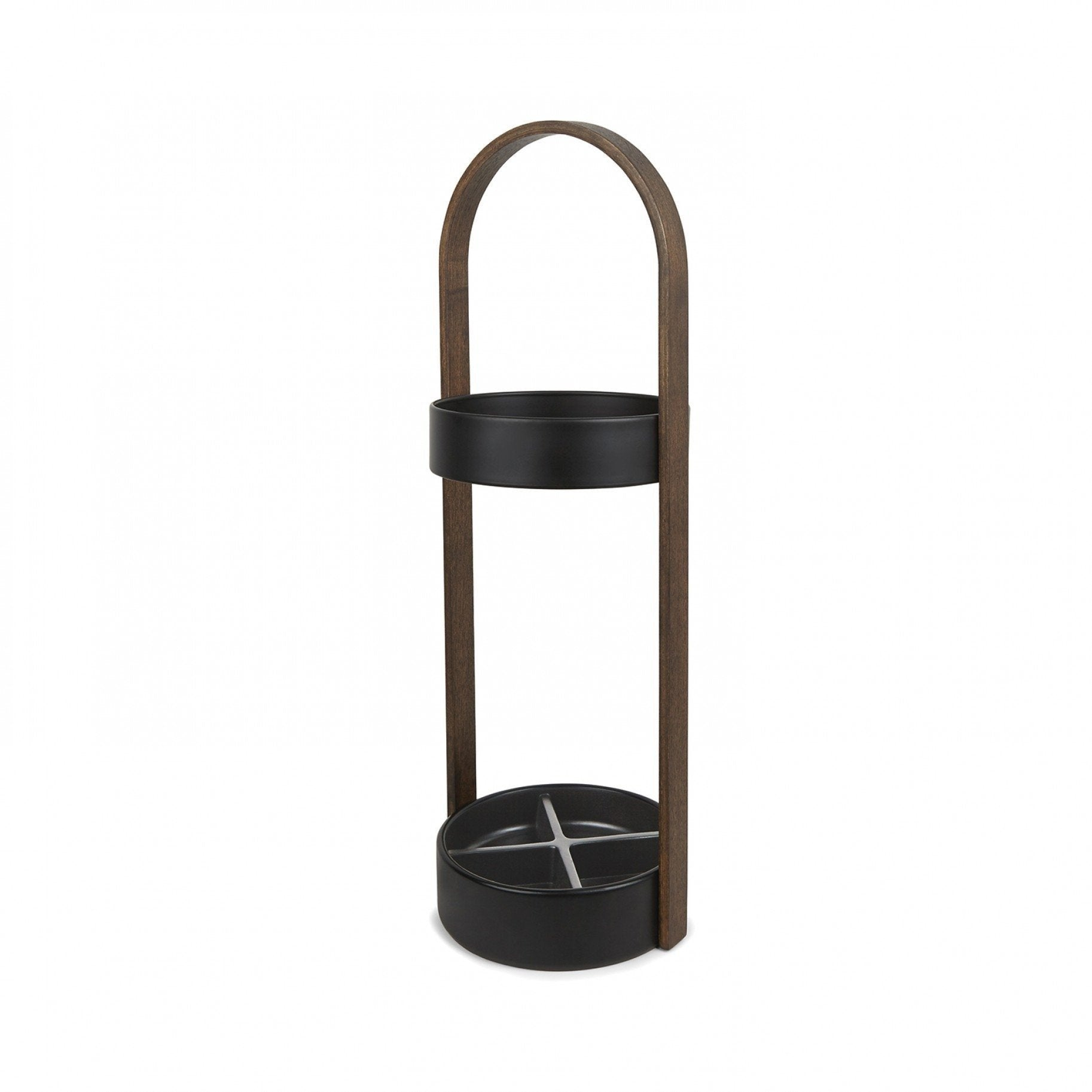HUB UMBRELLA STAND WALNUT