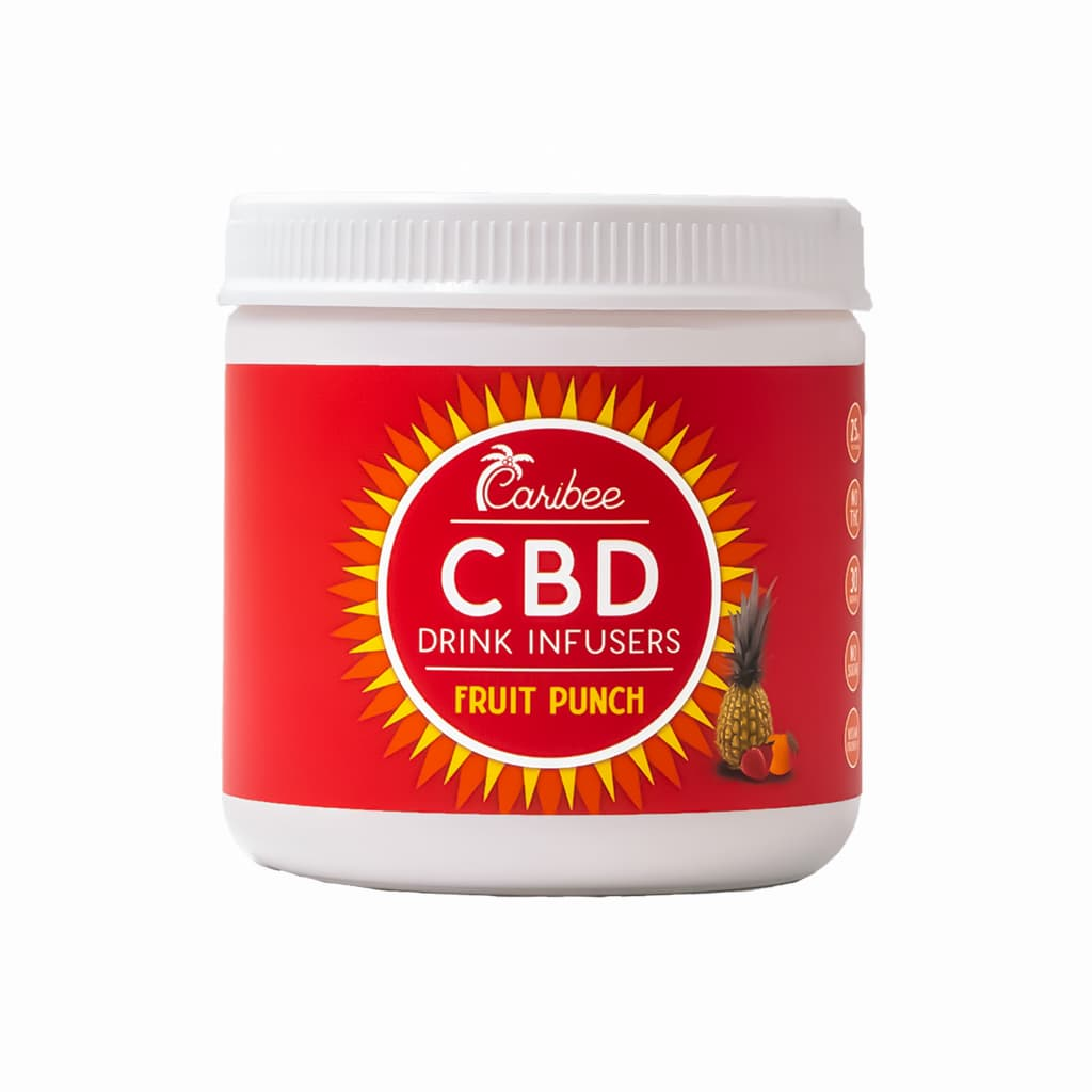 CBD Fruit Punch Drink Mix 30 Serving Tub