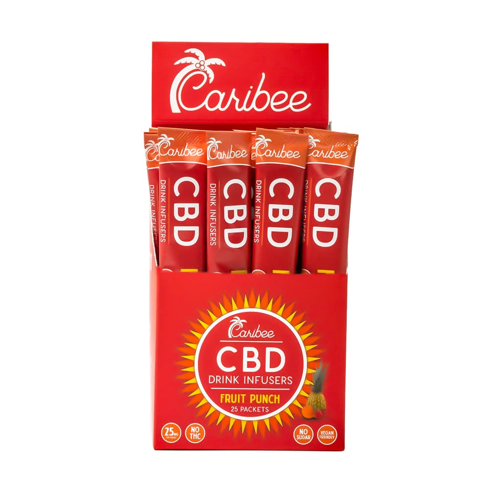 CBD Fruit Punch Drink Mix Single Serve Pack
