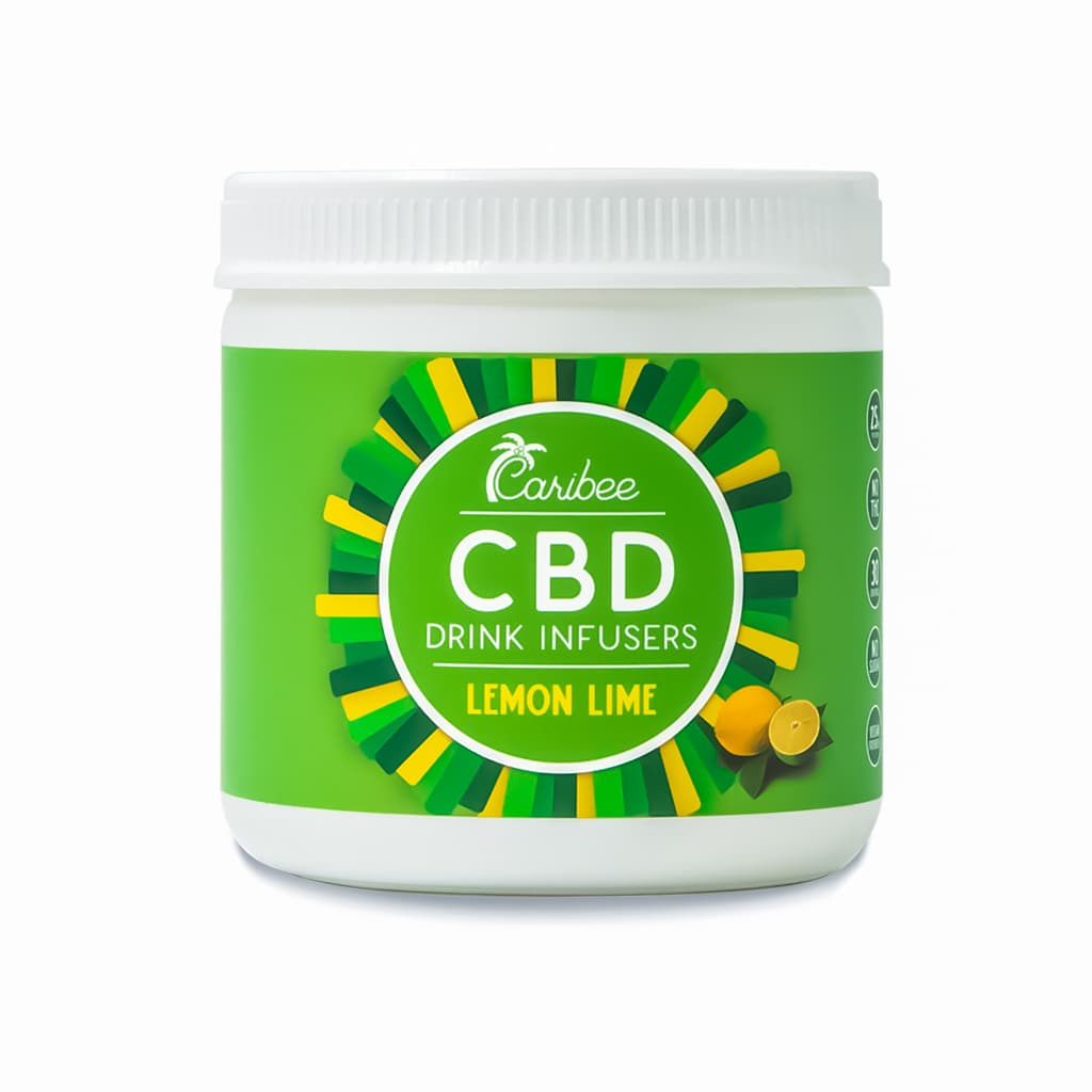 CBD Lemon Lime Drink Mix 30 Serving Tub