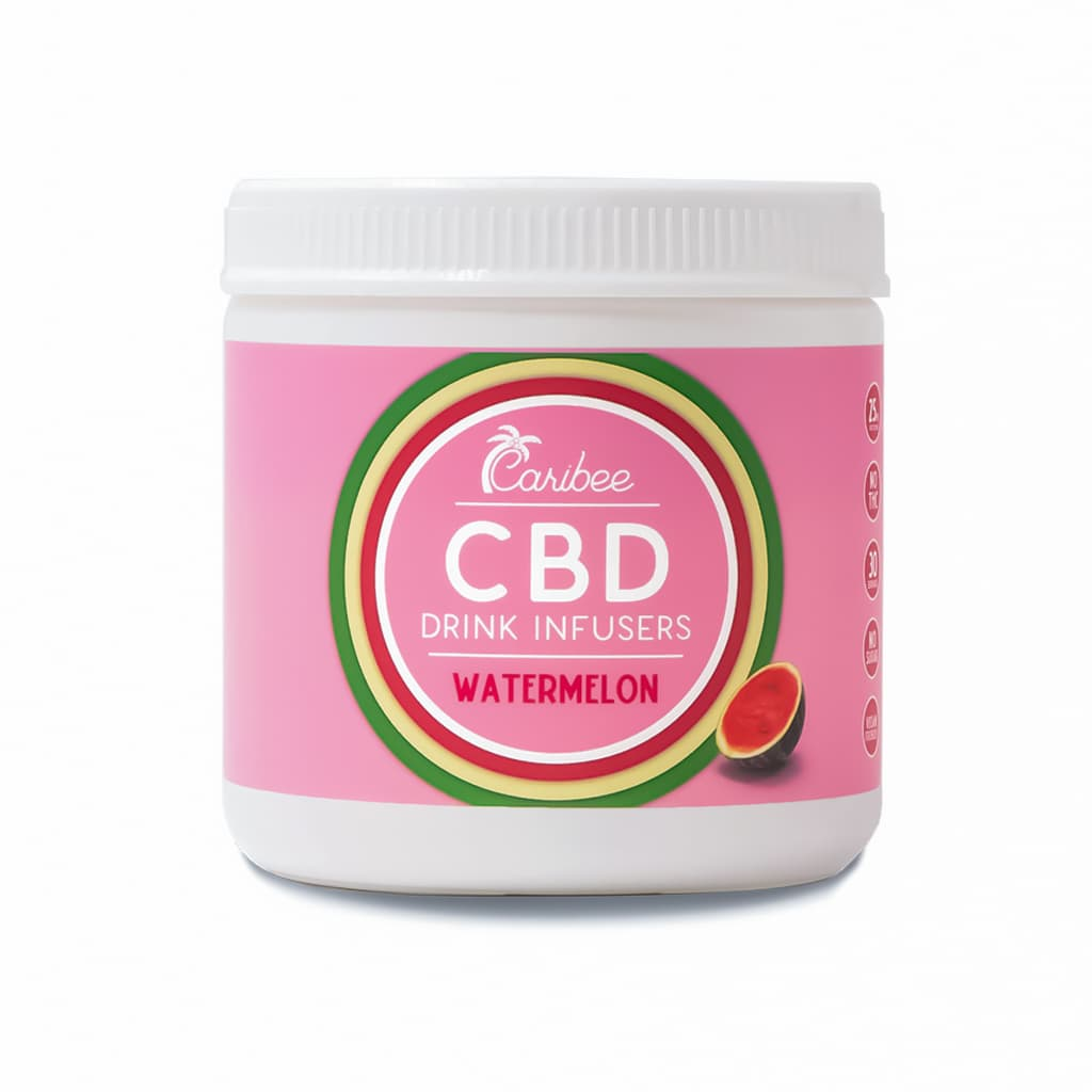 CBD Watermelon Drink Mix 30 Serving Tub