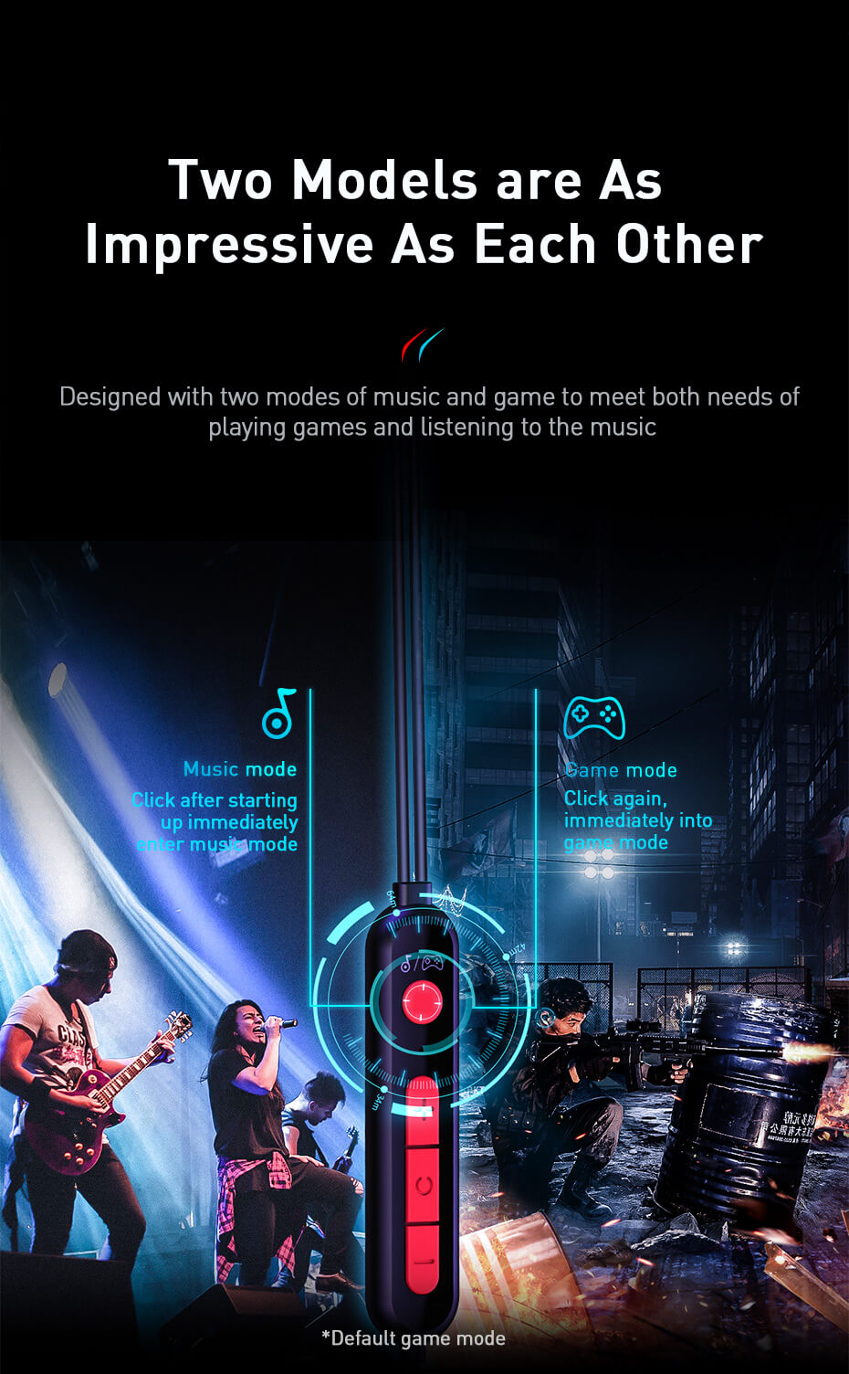GAMO C18 gaming earphone with immersive virtual 3D stereo sound effect