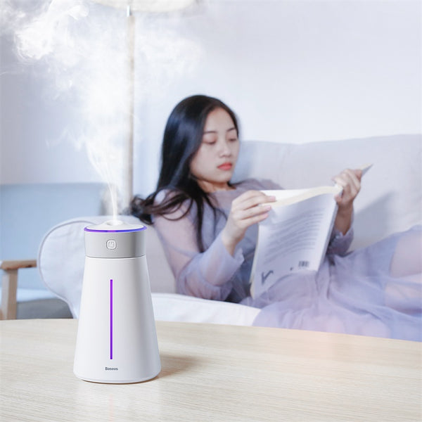 380ML Aroma Air Humidifier With Colorful Light Fan