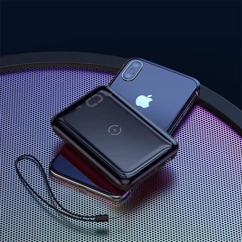 Baseus 10000mAh Qi Wireless Charger Power Bank Wireless Power Bank Baseus