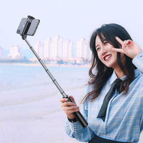 Bluetooth Selfie Stick with Wireless Remote | Baseus Mobile Accessories Baseus