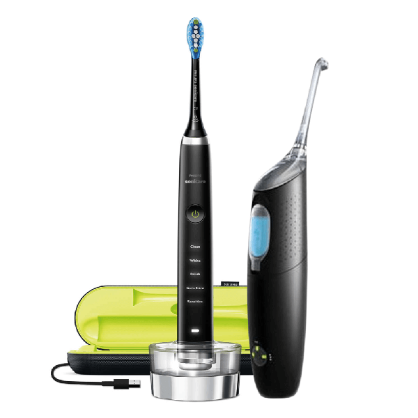 Philips Sonicare DiamondClean and AirFloss Ultra Black