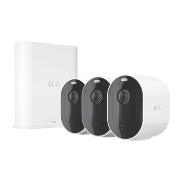 Arlo Pro 3 2K QHD Wire-Free Security 3-camera System