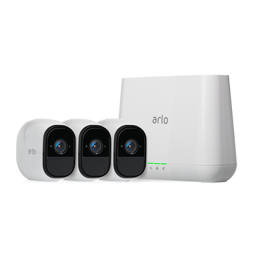 Arlo Pro 2 1080P Wire-Free Weather-Proof 3-Camera System