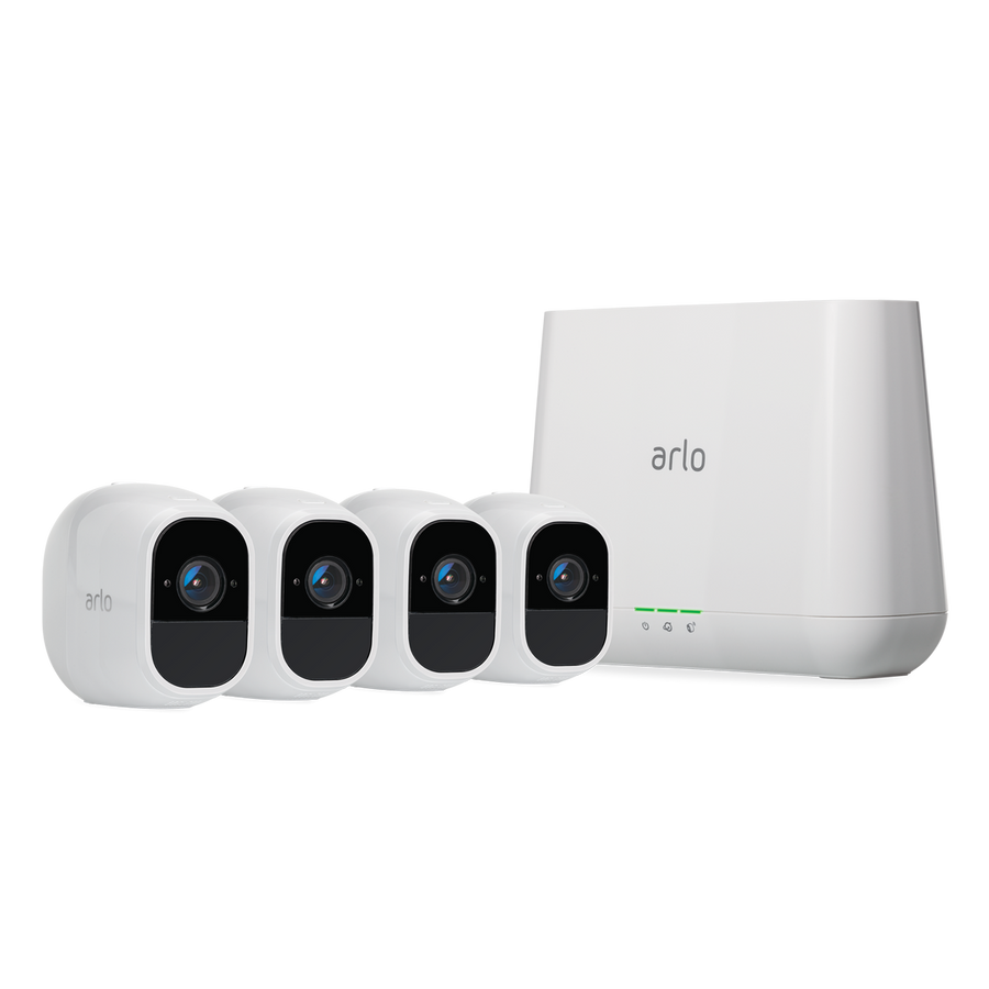 Arlo Pro 2 1080P Wire-Free Weather-Proof 4-Camera System