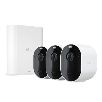 Arlo Ultra 4K UHD Wire-Free Security 3-camera System