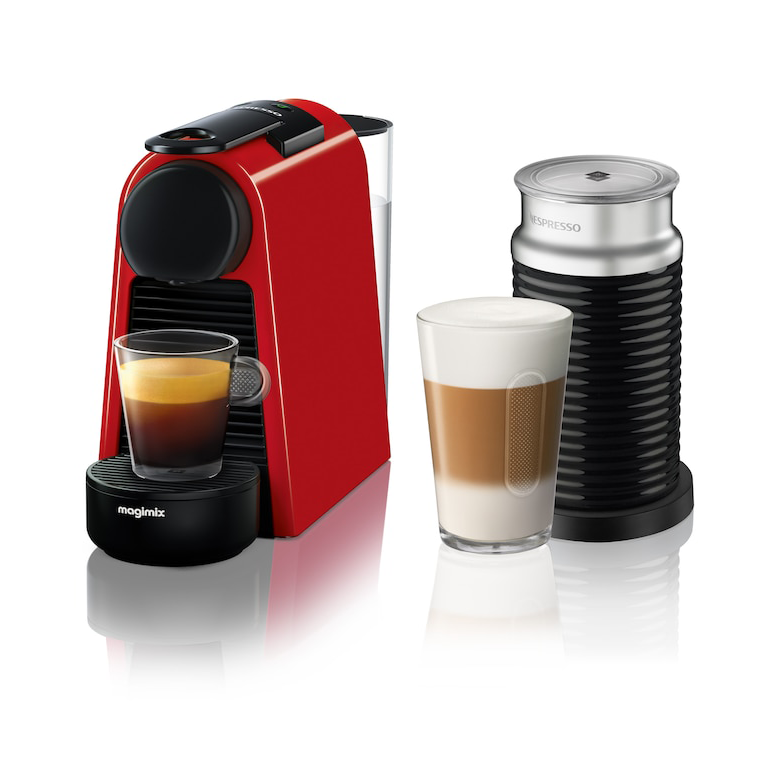 Magimix Essenza Mini Nespresso Coffee Machine with Aeroccino