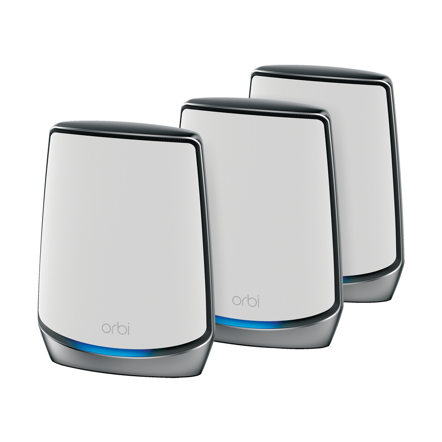 NETGEAR Orbi WiFi 6 AX6000 MESH System (kit of 3 units)