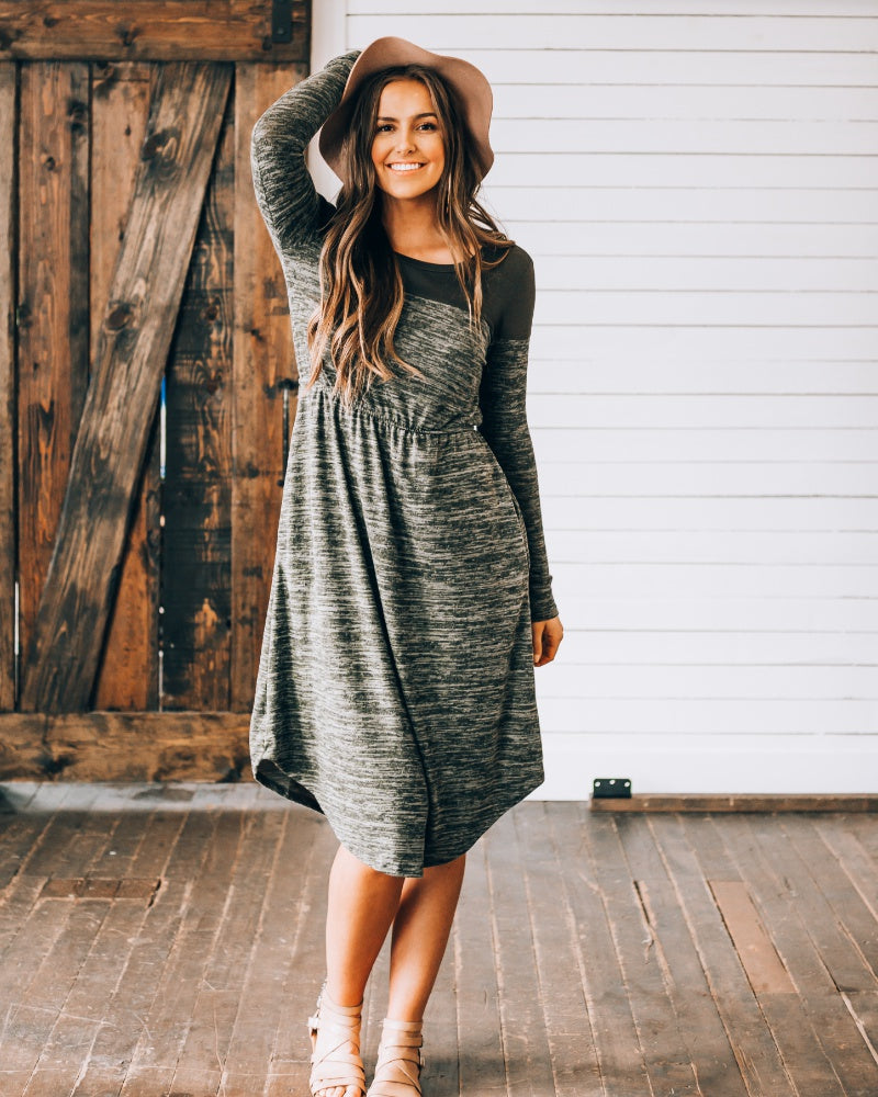 Cozy & Casual Saturday Dress
