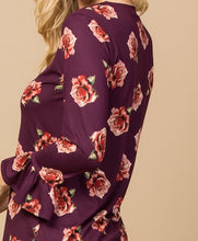 Load image into Gallery viewer, Ruffle Floral Blouse