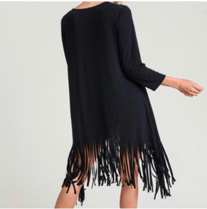 Bottom Fringe Tunic