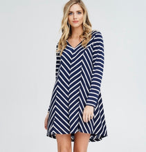Load image into Gallery viewer, Charlie Striped Knit Tunic
