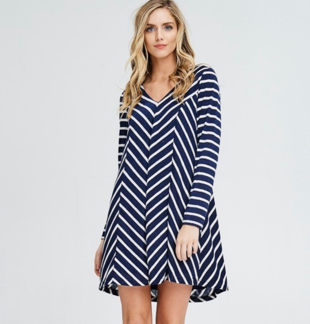 Charlie Striped Knit Tunic