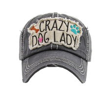 Load image into Gallery viewer, Crazy Dog Lady Cap