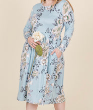 Load image into Gallery viewer, Spring Empire Waist Midi Dress