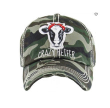 Load image into Gallery viewer, Crazy Heifer Cap
